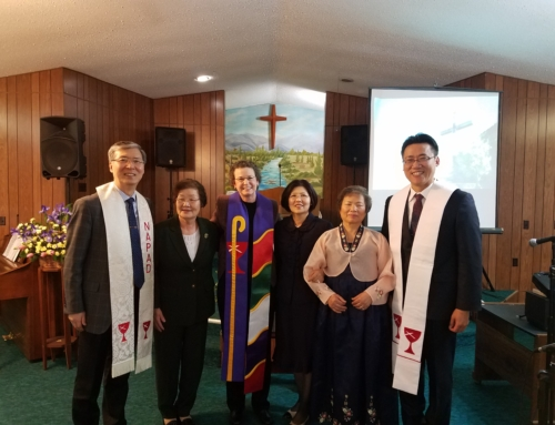 Exhorter Ordination Service at World Mission CC